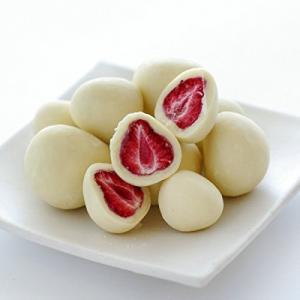 「商品情報」「主な仕様」フリーズドライの甘酸っぱい苺をチョコレートでコーティング 六花亭の大人気商品...