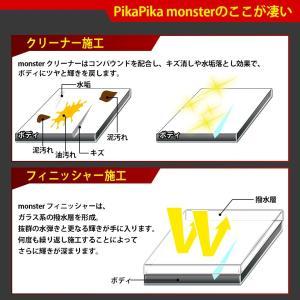 39-A-1)超撥水 車用 ガラス系コーティング剤 Pika Pika monster-ピカピカモンスター- 本格プロ仕様 オールカラー対応 安心の純国産|pika-q|15