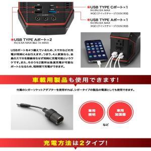 数量限定値下げ)50-C-1)ポータブル電源 大容量 42,000mAh/100W AC100V USB急速充電 保証1年 sonae-ソナエ- mini   防災|pika-q|07