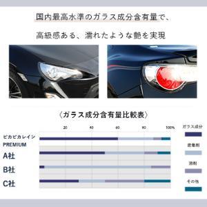 ガラスコーティング 車 ガラスコーティング剤 ピカピカレイン プレミアム 滑水性 洗車 カーワックス TOP-PREMIUM|pika2rain|10