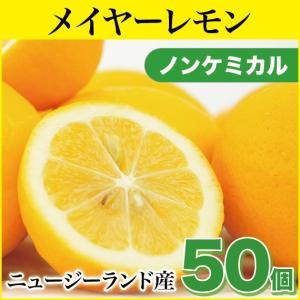 メイヤーレモン 50個 (ノンケミカル)(ニュージーランド産)(慣行栽培)(送料無料)|pika831