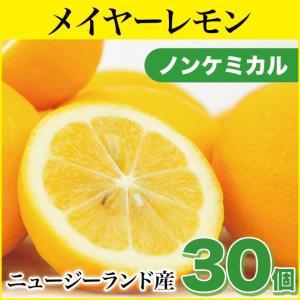 メイヤーレモン 30個 (ノンケミカル)(ニュージーランド産)(慣行栽培)|pika831