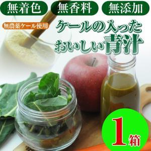 (数量限定)ケールの入ったおいしい青汁 1箱 (100cc×30p)(冷凍ジュース)(にんじんジュース)(無農薬人参)(ファイトケミカル)(コールドプレス製法)(健康) pika831