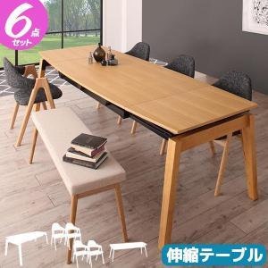 ダイニング6点セット ダイニングセット ダイニングテーブルセット 6人用 新生活|pikaichi-kagu