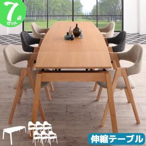 ダイニング7点セット ダイニングセット ダイニングテーブルセット 6人用 新生活|pikaichi-kagu