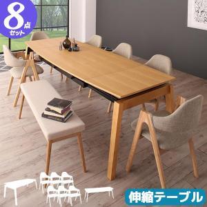 ダイニング8点セット ダイニングセット ダイニングテーブルセット 8人用 新生活|pikaichi-kagu
