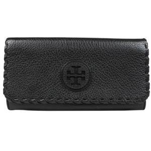 トリーバーチ 長財布 TORY BURCH マリオン エンベロープ レザー 二つ折り長財布 ブラック 11149210|pike-st