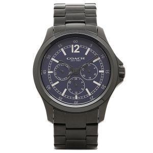 3fb8d13dbf42 コーチ 時計 COACH メンズ バロー マルチ ファンクション ブレスレット ウォッチ 腕時計 ブラック×ネイビー 14602062