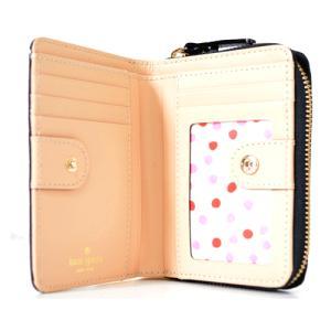ケイトスペード 財布 katespade レザー  コンパクト財布 ブラック 1745|pike-st|03