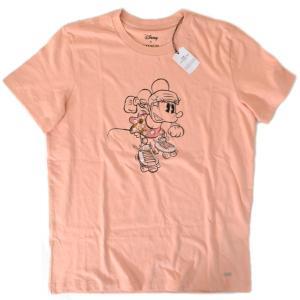 コーチ COACH ディズニー ミニーマウス コラボ Tシャツ S ローズピンク  29070