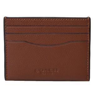 コーチ マルチポーチ COACH メンズ カードケース メンズ レザー パスケース カードケース サドル 29140|pike-st