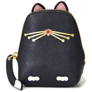 アメリカのケイトスペードから最新作のコインケースを入荷♪可愛らしい猫がモチーフとなったケイトの遊び心...