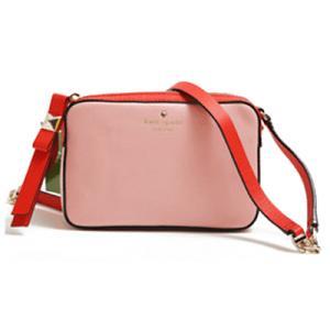 ケイトスペード新作のショルダーバッグ!中央のロゴがワンポイントの斜めがけバッグです☆旅行のサブバッグ...