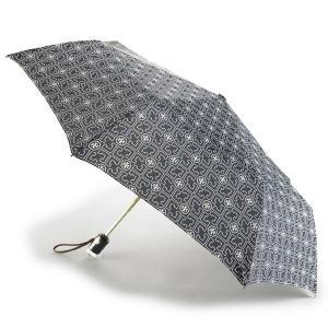 トリーバーチ 折りたたみ傘 TORY BURCH ロゴ アンブレラ 折りたたみ傘 ダークネイビー 41024|pike-st