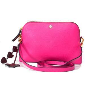 トリーバーチ人気のショルダーバッグより待望の新色が登場◎中でも幅広い年齢層の女性に人気のピンク系カラ...