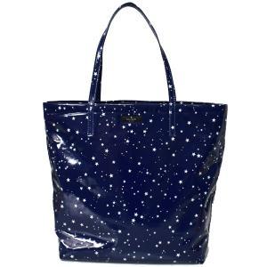 本場アメリカのケイトスペードから星柄が可愛いトートバッグを厳選入荷!上質なコーティングファブリック素...