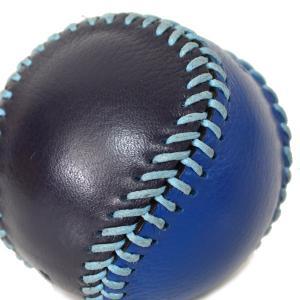 コーチ COACH  レザー ベースボール ペーパーウエイト 文鎮 ブルー×ネイビー 61450|pike-st|03
