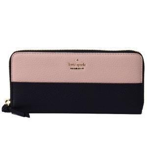 ケイトスペードからツートンカラーが可愛い今季新作の長財布を本場アメリカのケイトスペードより直入荷♪シ...