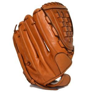 コーチ COACH レザー ベースボール 野球 グローブ サドル 65170