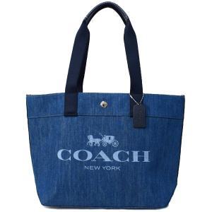コーチ バッグ COACH  キャンバス ペブルレザー デニム トートバッグ デニム 67415 pike-st