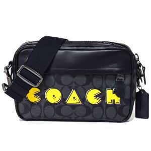 パックマンとのコラボ大好評で再びコーチとタッグ!クラッチバッグとして、又はショルダーバッグとしても使...