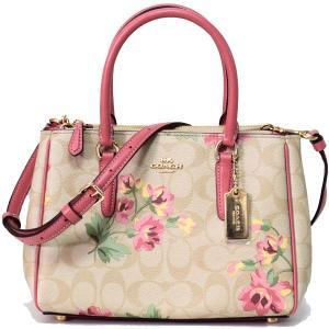 本場アメリカのコーチより花柄がアクセントになった可愛い2wayショルダーバッグをロサンゼルス現地で買...