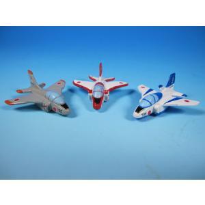 JAL日本航空グッズ商品 飛行機マグネットセットブルーインパルス歴代3機種|pilothousefs-cima