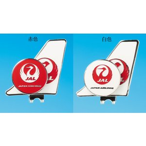 JAL日本航空グッズ商品 JAL鶴丸ゴルフマーカー|pilothousefs-cima