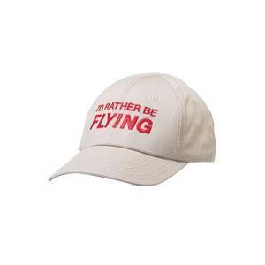I'd Rather Be Flying Cap (White) pilothousefs-cima