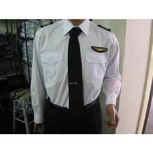 パイロット用品 JAL-Typeパイロットシャツ(長袖・JAL型タイプ) pilothousefs-cima