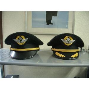 JAL-Typeパイロット制帽(JAL型・コパイ用) ※画面左側 pilothousefs-cima