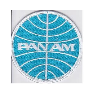 Iron On Applique PAN AM|pilothousefs-cima