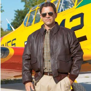 Current Issue A-2 Leather Flight Jacket|pilothousefs-cima