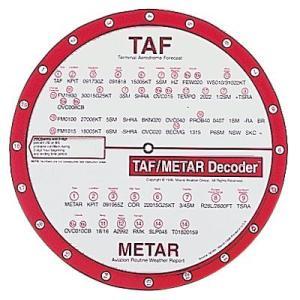 TAF/METAR Decoder (8 in. dia.) pilothousefs-cima