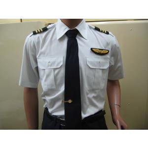 パイロット用品 JAL-Typeパイロットシャツ(半袖・JAL型タイプ) pilothousefs-cima