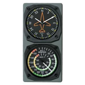 航空計器コンソール(ジャイロ/スピード計)|pilothousefs-cima