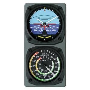 航空計器コンソール(水平計/スピード計)|pilothousefs-cima