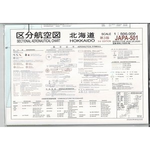 区分航空図 北海道