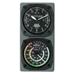航空計器コンソール(高度計/スピード計)|pilothousefs-cima