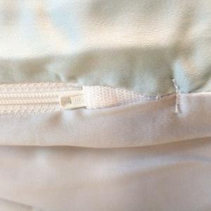 フォスフレイクス fossflakes コンフォートUジュニア 専用カバー グリーン×グレイ 枕カバー まくらカバー ピローケース テンセル100% さらさら 吸放湿|piloxs|04