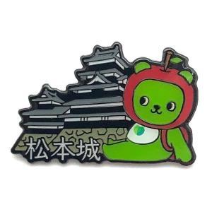 国宝松本城Ver.ピンバッジ|pin-bigwave