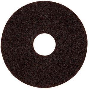 3M スコッチ・ブライト ブラウンストリッパーパッド(茶)18インチ|pine-needle