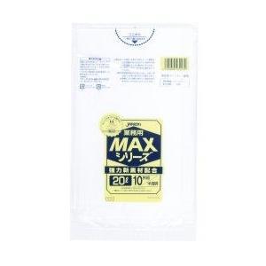 ジャパックス 業務用MAXシリーズ ポリ袋20L 520×600mm 厚さ0.015mm(600枚)|pine-needle