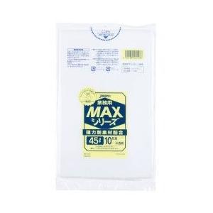 ジャパックス 業務用MAXシリーズ ポリ袋45L 650×800mm 厚さ0.015mm(1000枚)|pine-needle