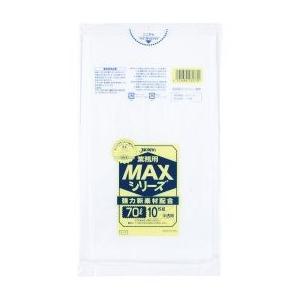 ジャパックス 業務用MAXシリーズ ポリ袋70L 800×900mm 厚さ0.025mm(400枚)|pine-needle
