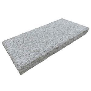 敷石 白 御影石 ノミキリ 300×600角 50mm厚 ノミギリ 石畳 飛び石 庭石 平板 ステップストーン 石材 (10枚セット)|pinepinestore