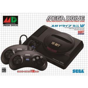 1988年に誕生した「メガドライブ」がミニサイズになって登場! 発売から約30年を記念して、当時の思...