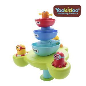 お風呂のおもちゃ 噴水ボート ユーキッド yookidoo ティーレックス バストイ おふろ おもちゃ キッズ 夏 家庭用プール ギフト プレゼント|pinkybabys