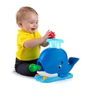 知育玩具 シリースパウト・ホエールポッパー ブライトスターツ おもちゃ ベビー キッズ ボール遊び 誕生日 ギフト お祝い プレゼント 男の子 女の子|pinkybabys