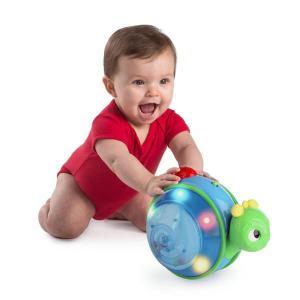 知育玩具 ロール&グロー・スネール ブライトスターツ おもちゃ プッシュトイ はいはい ベビー キッズ ギフト お祝い プレゼント 男の子 女の子|pinkybabys
